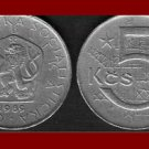 CZECHOSLOVAKIA 1989 5 KORUN KCS COIN KM#60 Europe - XF BEAUTIFUL!