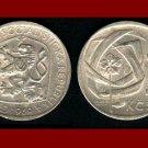 CZECHOSLOVAKIA 1969 3 KORUNY KCS COIN KM#57 Europe