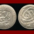 CZECHOSLOVAKIA 1965 3 KORUNY KCS COIN KM#57 Europe - XF BEAUTIFUL!
