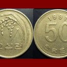 SOUTH KOREA 1991 50 WON COIN KM#34 Asia - F.A.O. ISSUE - Rice Stalks