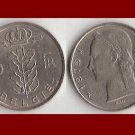 BELGIUM 1975 5 FRANCS BELGIE COIN KM#135.1 Europe - Dutch Legend