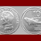 PHILIPPINES 1985 10 SENTIMOS COIN KM#240.2 Southeast ASIA - Martial Law