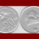 MALAYSIA 2008 20 SEN COIN KM#52 Eurasia - UNC AU BEAUTIFUL!