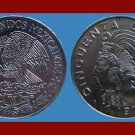 MEXICO 1970 50 CENTAVOS COIN KM#452 - Aztec Emperor Cuauhtemoc