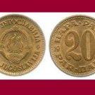 YUGOSLAVIA 1975 20 PARA COIN KM#45 Europe