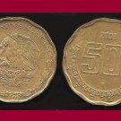 MEXICO 2003 50 CENTAVOS COIN KM#549 - Aztec Piedra del Sol