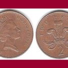 England Great Britain UK 1996 2 Two Pence Coin KM#936a Europe