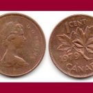 CANADA 1979 1 CENT COIN KM#59.2 North America