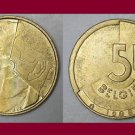 BELGIUM 1988 5 FRANCS BELGIE COIN KM#164 Europe - Dutch Legend