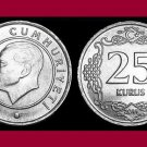 TURKEY 2011 25 KURUS COIN KM#1242 Eurasia - Mustafa Kemal Ataturk - BU - BEAUTIFUL!