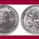 AUSTRALIA 2010 5 CENTS COIN KM#401 - AU - Beautiful! - Short beaked Echidna