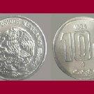 MEXICO 1994 10 CENTAVOS COIN KM#547 - BU - BEAUTIFUL! - Sacrifice of the Aztec Piedra del Sol