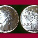 ITALY 1977 100 LIRE COIN KM#96.1 Europe - BU - BEAUTIFUL! - Statue of Minerva
