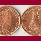 BAILIWICK OF JERSEY 1998 1 PENNY COIN KM#103 Europe - Le Hocq Tower