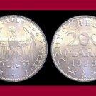Weimar Republic GERMANY 1923(A) 200 MARK COIN KM#35 Europe - BU, BEAUTIFUL!