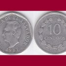 EL SALVADOR 1987 10 CENTAVOS COIN KM#155 Central America - BU - BEAUTIFUL!