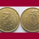 FINLAND 1980 10 PENNIA KM#46 Crowned Lion - BU - BEAUTIFUL!