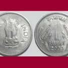 INDIA 2003 1 RUPEE COIN KM#92.2 -  XF - BEAUTIFUL!