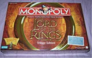 Lord of the Rings Monopoly Triology edition NEW in SEALED BOX LOTR