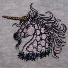 NEW XL sweatshirt UNICORN embroidery front pouch for hands
