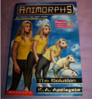 Animorphs# 22 The Solution by KA Applegate used, very good condition low shipping