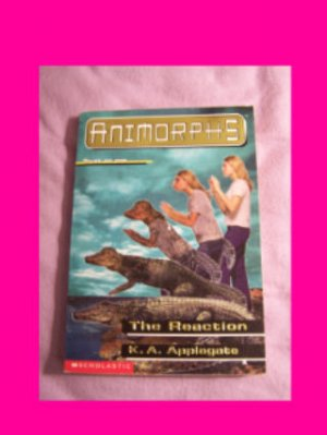 Animorphs #12 The Reaction by K.A. Applegate, each additional Animorphs book ships for 60 cents