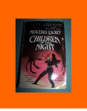 Children of the Night by Mercedes Lackey used paperback