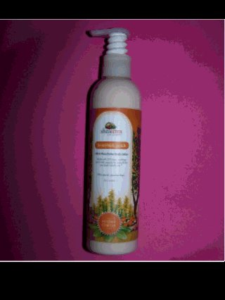 Honeybush Peach scent 20% shea butter lotion PARABEN FREE by SheaTerra Organics, 8 oz.