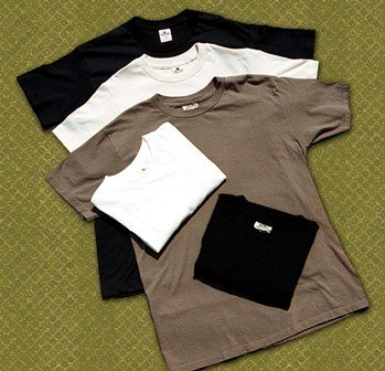 Maggie's Organics 100% Organic Cotton T shirt LARGE Color: natural