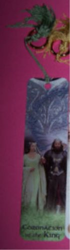 New Arwen and Aragorn LOTR bookmark with One Ring ROTK