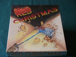 Red Christmas wargame by Thunderhaven 1992. Unpunched.