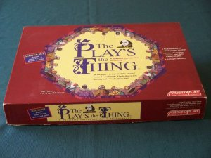 The Play's The Thing by Aristoplay 1993.  Complete VGC