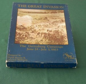 The Great Invasion Gettysburg Campaign, Clash of Arms 1985 Unpunched