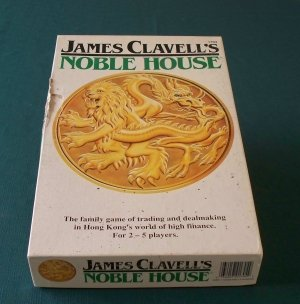 James Clavell's Noble House Game, FASA 1987 Unpunched