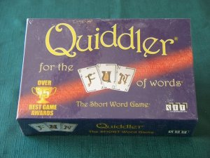 Quiddler Short Word Game Set Enterprises NIB Sealed