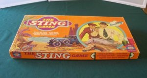 The Sting Board Game Ideal Toy 1976 Complete