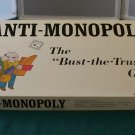Anti-Monopoly Bust The Trust Game 1973 Complete VGC