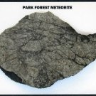 Park Forest, Illinois Meteorite Slice POSTCARD