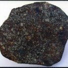 NWA869 African Meteorite Postcard, Shows Colorful Slice