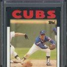 1986 Topps #212 CHRIS SPEIER Card PSA 10 Chicago Cubs