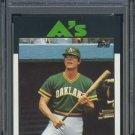 1986 Topps #378 BRUCE BOCHTE Card PSA 10 Oakland A's