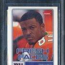 2006 Fleer Fresh Faces #FRSM SINORICE MOSS RC BGS 9.5