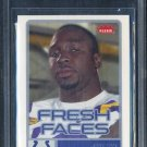 2006 Fleer Fresh Faces #FRJA JOSEPH ADDAI RC BGS 9.5
