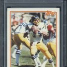 1982 Topps #231 Dan Fouts Card RC PSA 8.5 Chargers