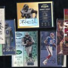 1998-2002 Playoff Contender Rookie Ticket Auto Lot (7)