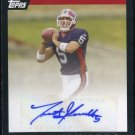 2007 Topps Highlights Autograph TRENT EDWARDS Auto RC