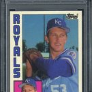 1984 Topps Traded #104T BRET SABERHAGEN RC PSA 9 Royals