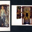 MARILYN MONROE Museum Art Postcard Lot (2)