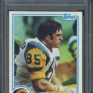 1982 Topps #388 Jack Youngblood Card PSA 9 Rams