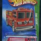 2009 Hot Wheels Treasure Hunt #4/12 Fire Eater Truck